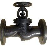 Клапан запорный (вентиль) чугунный аналог 15кч14п